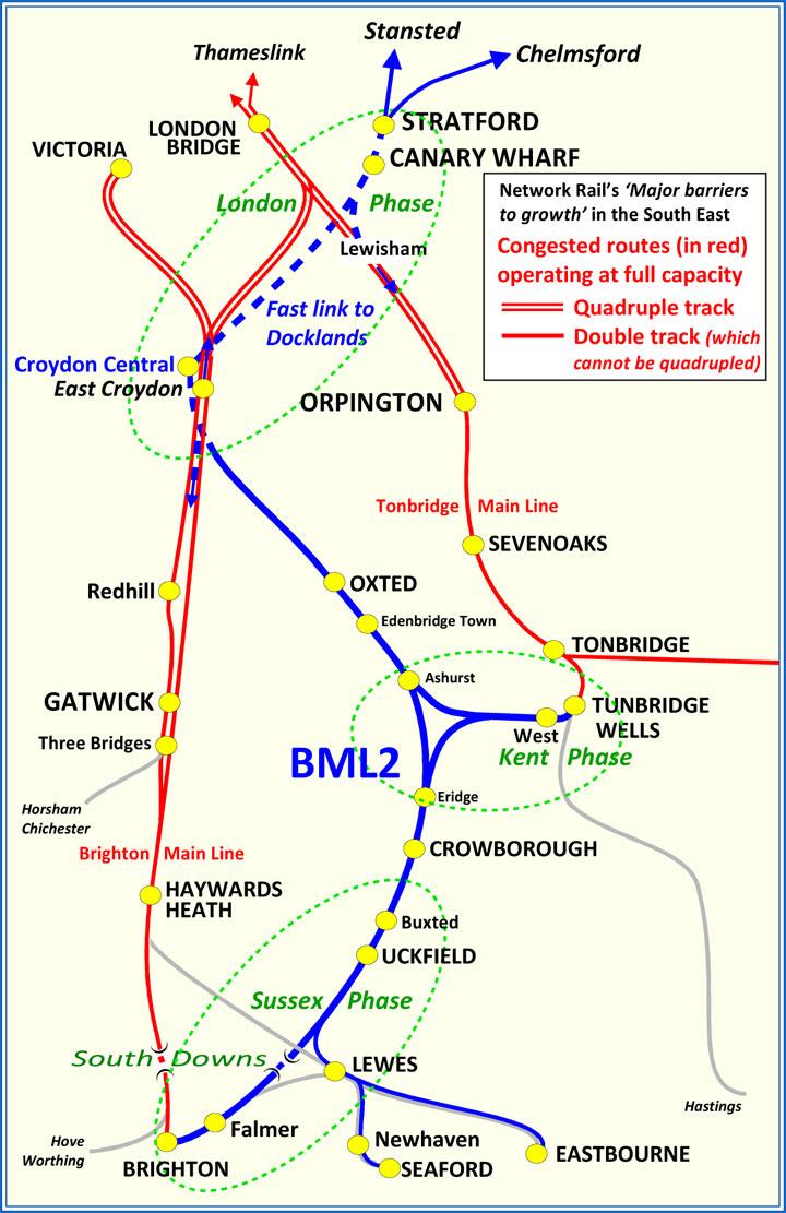 BML2 Route Plans