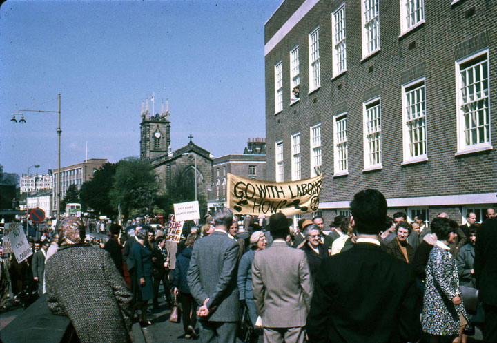 Tunbridge Wells Protest 1967