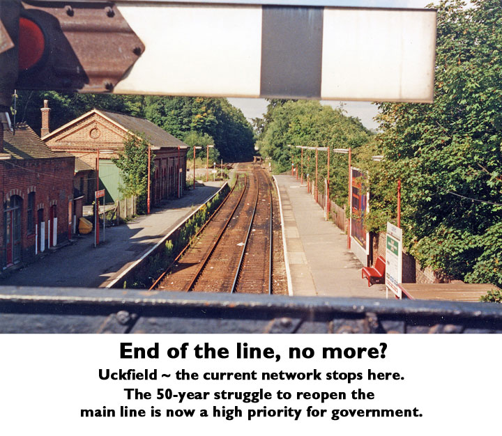 Uckfield - end of the line, no more